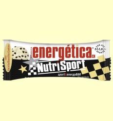 Barrita Energética - Sabor Vainilla & Cookies - NutriSport - 44 gramos
