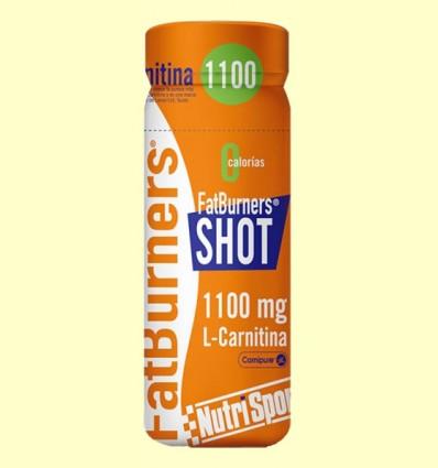 FatBurners Shot - L-Carnitina - Nutrisport - 60 ml