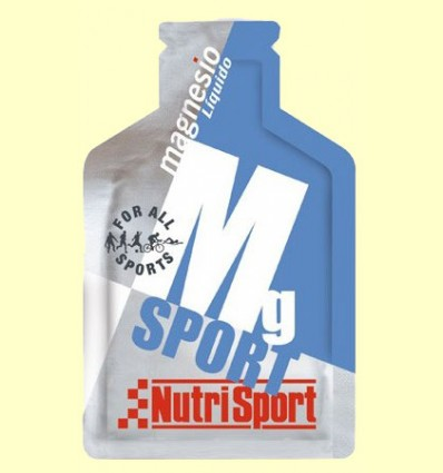 Mg Sport Magnesio Líquido - Nutrisport - 1 sobre