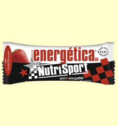 Barrita Energética Fresa - NutriSport - 44 gramos