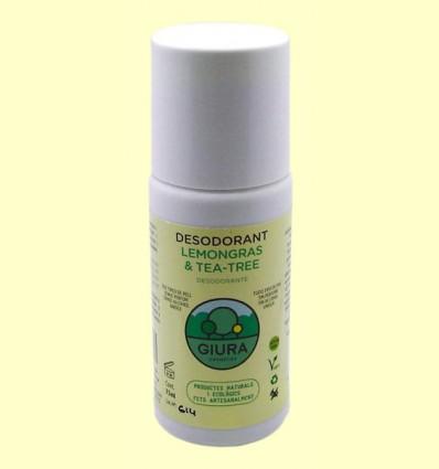 Desodorante Lemongras & Tea Tree - Giura - 75 ml
