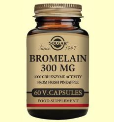 Bromelina 300 mg - Digestivo - Solgar - 60 cápsulas