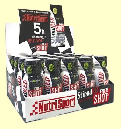 StimulRED Enershot - Rendimiento y Concentración - Nutrisport - 20 unidades