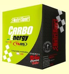 Carbo Energy Tabs - Nutrisport - 32 comprimidos