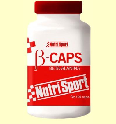 B Caps - Beta-Alanina - Nutrisport - 100 cápsulas