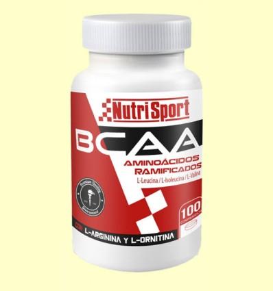Aminoácidos Ramificados BCAA - NutriSport - 100 comprimidos