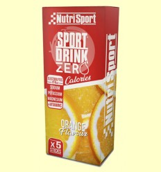 Bebida Hydra Zero Naranja - NutriSport - 5 sticks