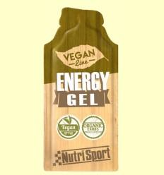 Vegan Energy Gel - Aporte Energético - NutriSport - 1 sobre