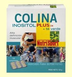 Colina Inositol Plus Té Verde - NutriSport - 120 comprimidos