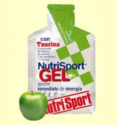 Gel Sport con Taurina Sabor Manzana - Cycling NutriSport - 40 gramos