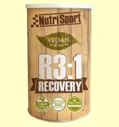 Vegan R3:1 Recovery - Recuperación - Nutrisport - 600 gramos