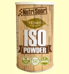 Vegan Iso Powder - Aporte energético - Nutrisport - 490 gramos