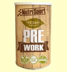 Vegan PreWork - Aporte energético - Nutrisport - 380 gramos