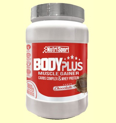 Body Plus Chocolate - Nutrisport - 1800 gramos