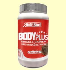 Body Plus Chocolate - Nutrisport - 850 gramos