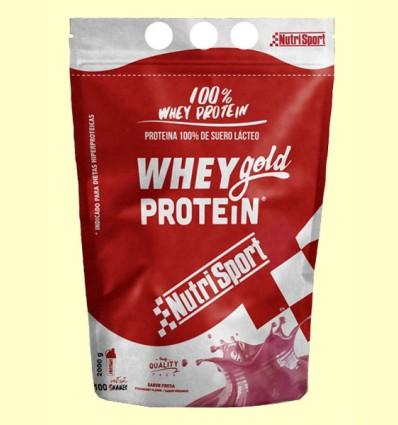 Whey Gold Protein Fresa - Nutrisport - 2000 gramos