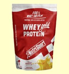 Whey Gold Protein Yogur Plátano - Nutrisport - 500 gramos