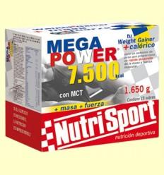 Mega Power Batido Vainilla - NutriSport - 15 sobres