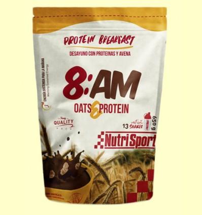 Desayuno con Proteínas y Avena 8:AM - Nutrisport - 650 gramos