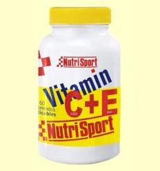 Vitamin C+E - Nutrisport - 60 comprimidos masticables