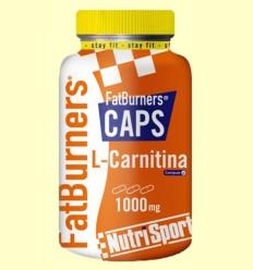 FatBurners Caps - L-Carnitina - Nutrisport - 105 comprimidos