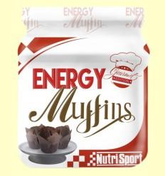 Energy Muffins Chocolate - Nutrisport - 560 gramos