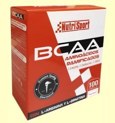 BCAA Aminoácidos Ramificados - Nutrisport - 100 cápsulas
