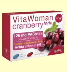 Vitawoman Cranberry Forte - Eladiet - 30 comprimidos