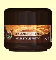 Cera Capilar Hombres Hair Style - Ginseng - Dr.Organic - 75 ml