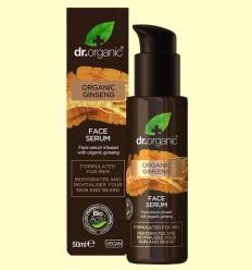 Serum Facial Hombres - Ginseng - Dr.Organic - 50 ml
