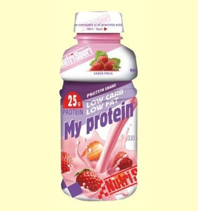 My Protein Fresa - NutriSport - 330 ml