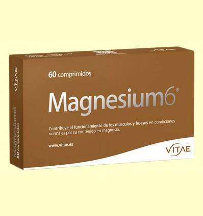 Magnesium6 - 6 sales de magnesio - Vitae - 60 comprimidos