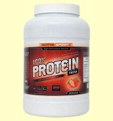 Proteína de Soja 100% Fresa - Sotya - 1800 gramos