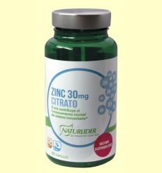 Zinc Citrato - Naturlider - 60 cápsulas