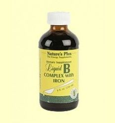 Liquid B-Complex - Con Hierro - Natures Plus - 236 ml ******