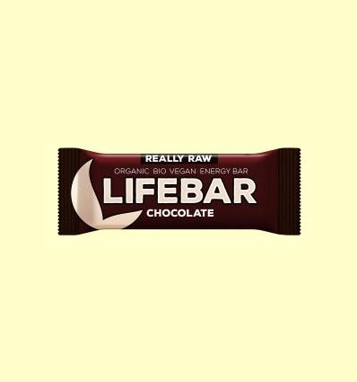 Lifebar Raw Chocolate Bio - Lifefood - 47 gramos