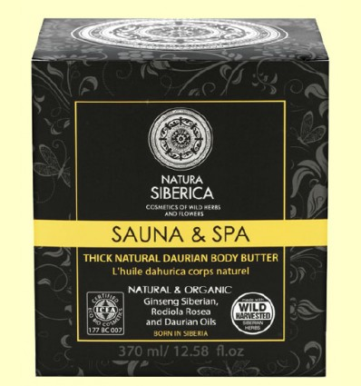 Sauna & Spa Aceite Dáurico Corporal - Natura Siberica - 370 ml