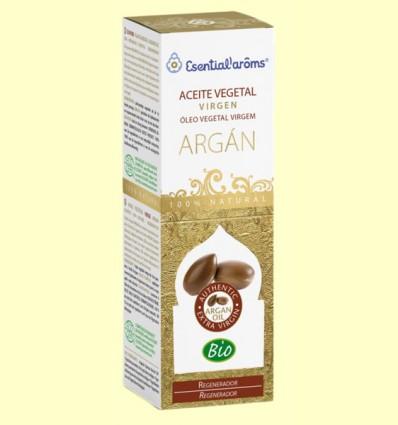 Aceite Vegetal Virgen de Argán Bio - Regenerador - Esential'arôms - 50 ml