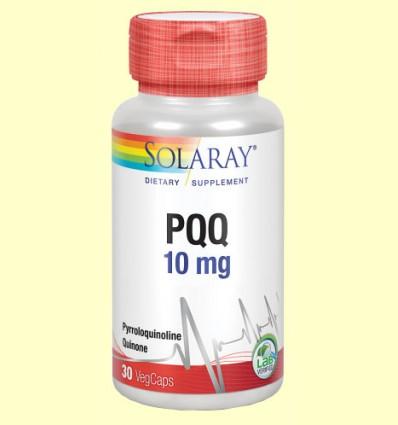 PQQ 10 mg - Antioxidante - Solaray - 30 cápsulas vegetales