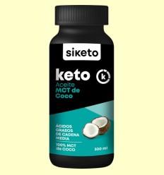 Keto Aceite MCT de Coco - Siketo - 300 ml