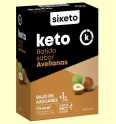 Keto Batido sabor Avellana - Siketo - 5 sobres