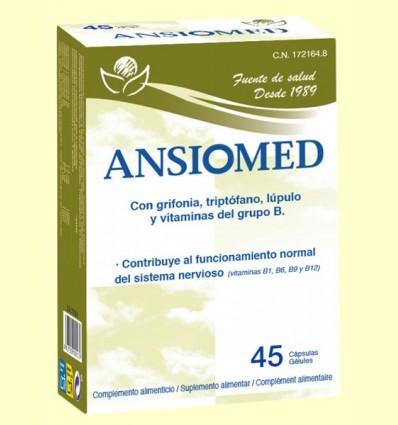 Ansiomed - L-Triptofano - Bioserum - 45 cápsulas