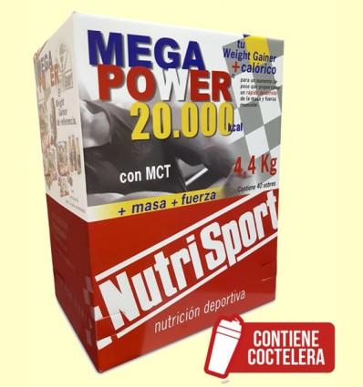 Mega Power Batido Fresa - NutriSport - 40 sobres