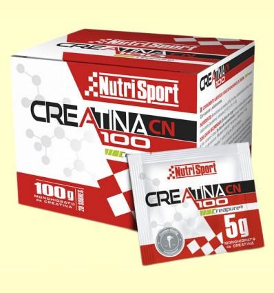 Creatina 100 Monohidrato - NutriSport - 20 sobres