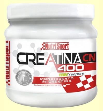 Creatina 400 Monohidrato - NutriSport - 400 gramos