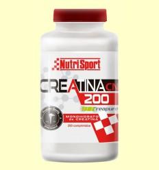 Creatina 200 Monohidrato - NutriSport - 200 comprimidos