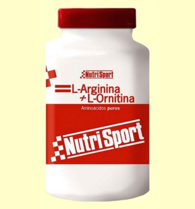 L-Arginina L-Ornitina - NutriSport - 100 cápsulas