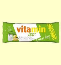 Barrita Vitaminada sabor Yogurt Limón - NutriSport - 20 unidades
