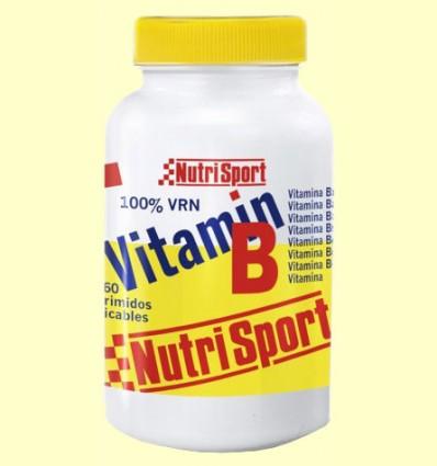 Vitamin B - Nutrisport - 60 comprimidos masticables