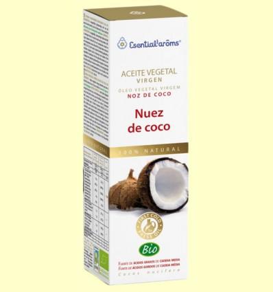 Aceite Vegetal Virgen Nuez de Coco Bio - Esential Aroms - 100 ml